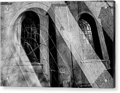 Church With Window Acrylic Print