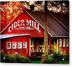 Cider Mill Acrylic Print