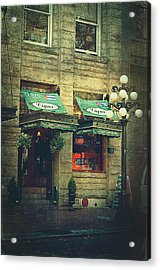 Cigar Shop Acrylic Print by Maria Angelica Maira