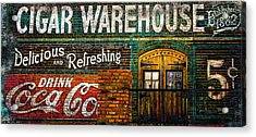 Cigar Warehouse Acrylic Print