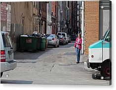 Cigarette Break Acrylic Print