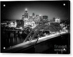 Cincinnati A New Perspective Acrylic Print by Kimberly Nickoson