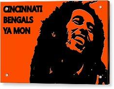 Cincinnati Bengals Ya Mon Acrylic Print by Joe Hamilton
