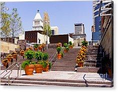 Cincinnati Downtown Central Business District Acrylic Print