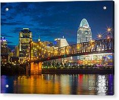 Cincinnati Downtown Acrylic Print