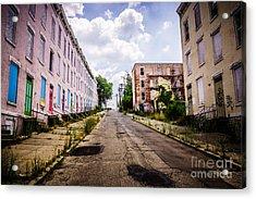 Cincinnati Glencoe-auburn Place Image Acrylic Print by Paul Velgos