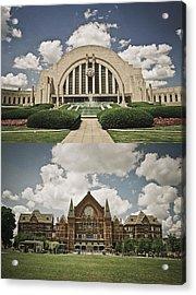 Cincinnati Icons Acrylic Print
