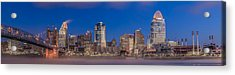 Cincinnati Morning Twilight Acrylic Print