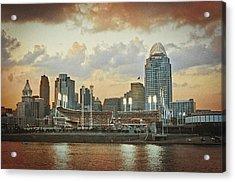 Cincinnati Ohio Vii Acrylic Print