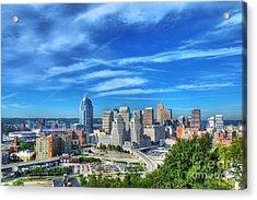 Cincinnati Skyline 2 Acrylic Print