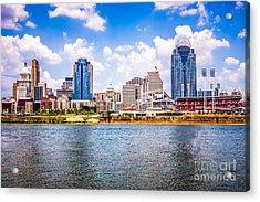 Cincinnati Skyline Photo Acrylic Print