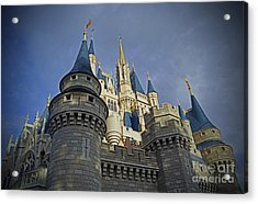 Cinderella Castle - Walt Disney World Acrylic Print by AK Photography
