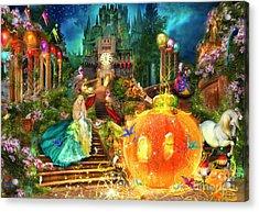 Cinderella Variant 1 Acrylic Print by Aimee Stewart