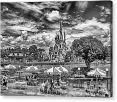 Acrylic Print featuring the photograph Cinderella's Palace by Howard Salmon