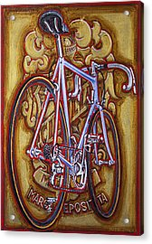 Cinelli Laser Bicycle Acrylic Print by Mark Howard Jones