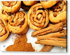 Cinnamon And Rolls Acrylic Print by Don Bendickson
