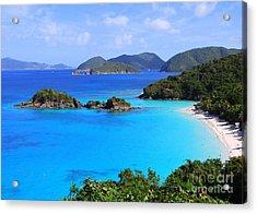 Cinnamon Bay St. John Virgin Islands Acrylic Print