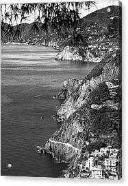 Cinque Terre Coastline Acrylic Print