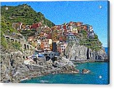 Cinque Terre Itl3403 Acrylic Print