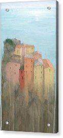 Cinque Terre Acrylic Print by Steve Mitchell