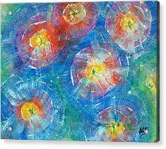 Circle Burst Acrylic Print