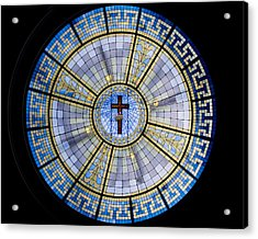 Circle Of Christ Acrylic Print by Dee  Savage
