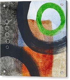 Circles 2 Acrylic Print by Linda Woods