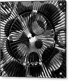 Acrylic Print featuring the photograph Circles And Spokes by Geraldine Alexander