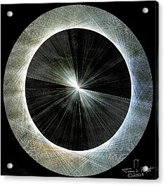 Circles Do Not Exist 720 The Shape Of Pi Acrylic Print