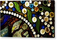 Circles Of Glass Acrylic Print