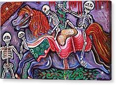 Circo De Los Muertos Acrylic Print