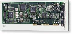 Circuit Board Acrylic Print by Dorling Kindersley/uig