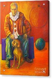 Circus Acrylic Print by Dagmar Helbig