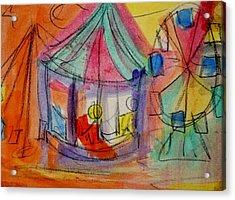 Circus Acrylic Print