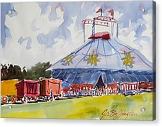 Circus Hall Of Fame Acrylic Print
