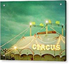 Circus II Acrylic Print by Violet Gray