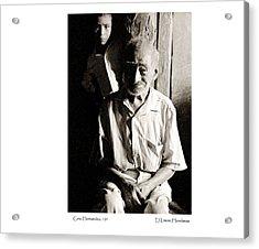 Acrylic Print featuring the photograph Cirio Hernandez by Tina Manley