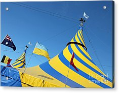 Cirque Du Soleil Montreal Acrylic Print by Ros Drinkwater