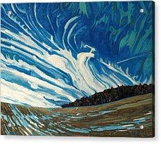 Cirrus Fingers Acrylic Print