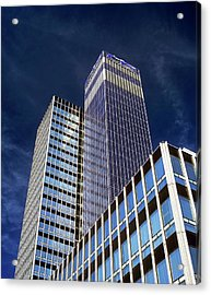 Cis Building Acrylic Print by Martin Bond