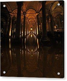 Cisterna Basilica Acrylic Print by Ivana Miletic