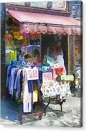 Hoboken Nj - Discount Dress Shop Acrylic Print