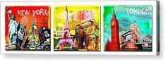 Cities Acrylic Print