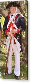 Citizen Soldier Nbr 1 Acrylic Print by Will Barger