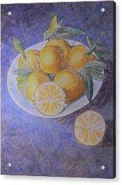 Citrus Acrylic Print by Adel Nemeth