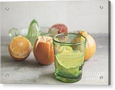Citrus Bright Acrylic Print