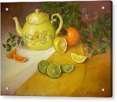 Citrus N Tea Acrylic Print