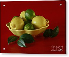 Citrus Passion Acrylic Print by Inspired Nature Photography Fine Art Photography