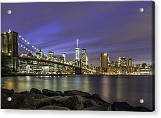 City 2 City Acrylic Print by Anthony Fields