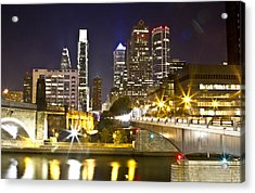 City Alive Acrylic Print